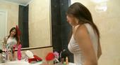 マリー - 18歳ロリっ娘のシャワー遊び!透けた乳首がたまらない・・