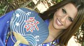 レイチェル・ロックス - 金髪娘レイチェルの巨乳を堪能する日本男児 夏パイ弄り -浴衣特集2012-