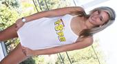 アシュリー オリバー - はにかみながら初々しい裸体を初披露&初撮り NEW FACE COLLECTION