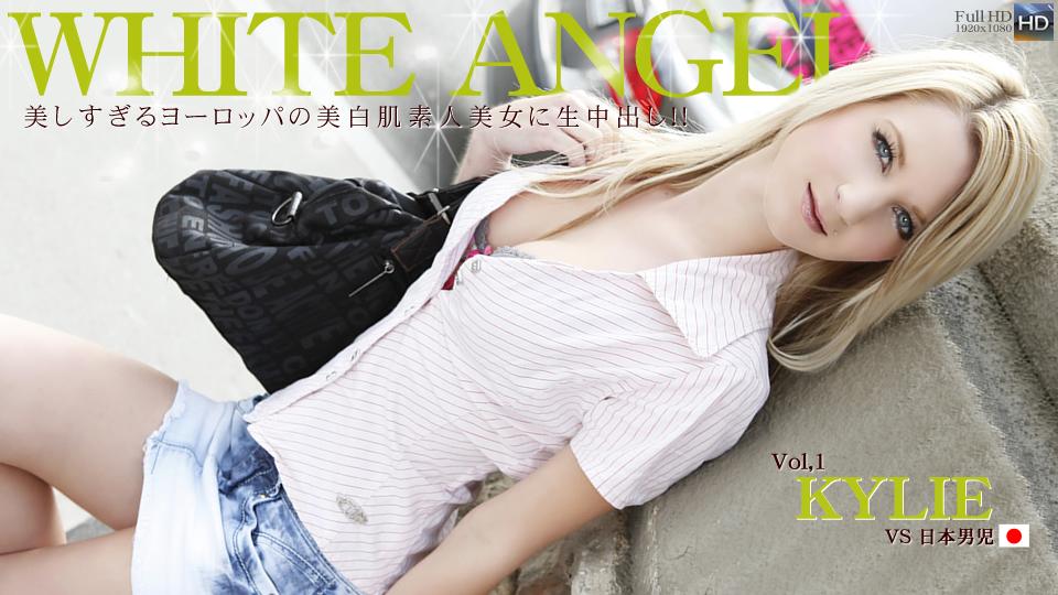 美しすぎるヨーロッパの美白肌素人美女に生中だし! WHITE ANGEL / カイリー