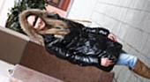 SNSサイトで知り合った欧州美女は超敏感の大量潮吹き娘でした・・GACHI-NANPA COLLECTION メラニー 2