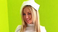 Gorgeous Nurse LINDSEY visiting examination
