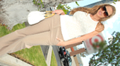 アビー - THE NANPA 子供たちのために買い物に来ていた爆乳熟女をお持ち帰り!