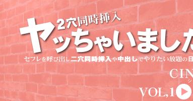 セフレを呼び出し二穴同時挿入や中出しでやりたい放題の日本男児 VOL1