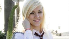 レーシー リビア SNSで募集してみたら18歳のこんなに可愛い金髪娘がやってきました SCHOOL CUTIE COLLECTION LACEY LEVEAH