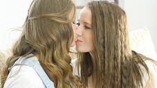 JALEN & OLIVIA Amazing Lesbo