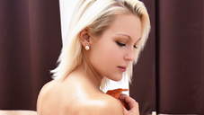 JAPANESE STYLE MASSAGE 肉感美尻のヌルヌルBODYをタップリ弄ぶ VOL2 Cecilia Scott|セシリア[洋物 金髪]<金髪天國(金8天国)>