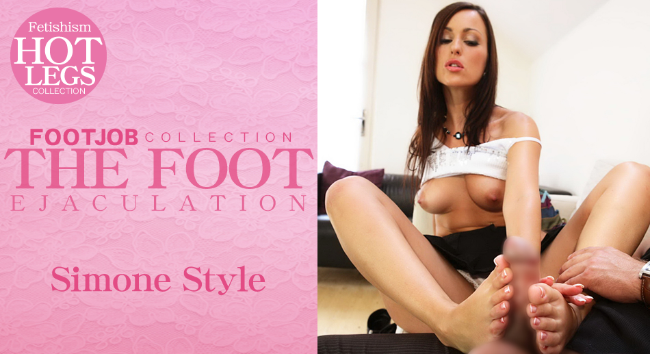 THE FOOT EJACULATION Fetishism HOT LEGS COLLECTION
