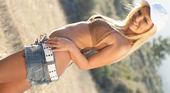動物的本能を呼び覚ます開放草原セックス Grassland Fxxx Cassie キャッシー 3