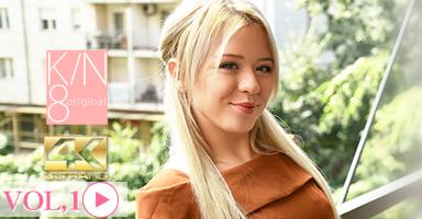 JAPANESE STYLE MASSAGE ピチピチ小柄金髪娘のBODYをジックリ弄ぶ VOL1 Anna Ray / アンナ レイ
