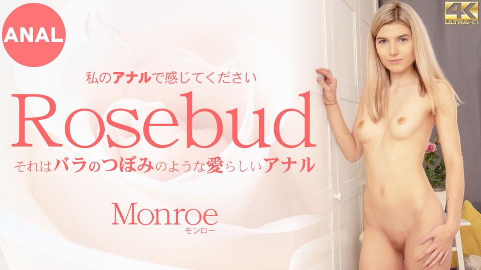 [金髪天國][モンロー][それはバラのつぼみのような愛らしいアナル 私のアナルで感じてください Rosebud Monroe]